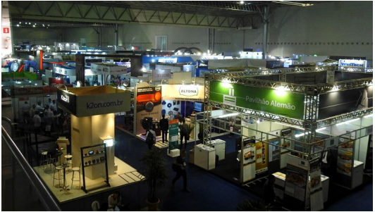 Exposibram 2017 Exhibition Belo Horizonte, Brazil, 18 – 21 september 2017